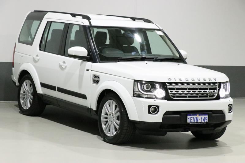 LAND ROVER DISCOVERY SDV6 Series 4 SDV6 HSE Wagon 7st 5dr Spts Auto 8sp 4x4 3.0DTT [MY15]