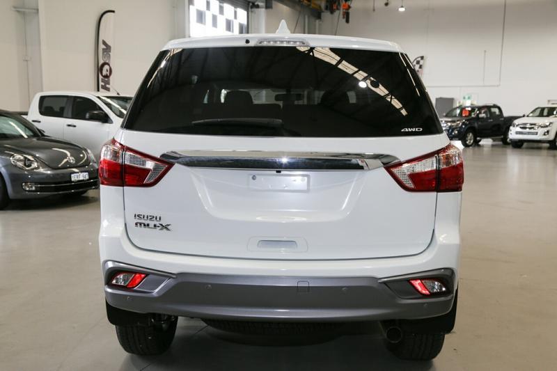 ISUZU MU-X LS-U LS-U Wagon 7st 5dr Rev-Tronic 6sp 4x4 3.0DT [MY18]