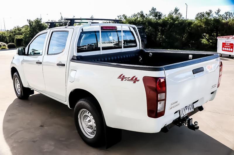 ISUZU D-MAX SX SX Utility Crew Cab 4dr Man 6sp 4x4 3.0DT [MY17]