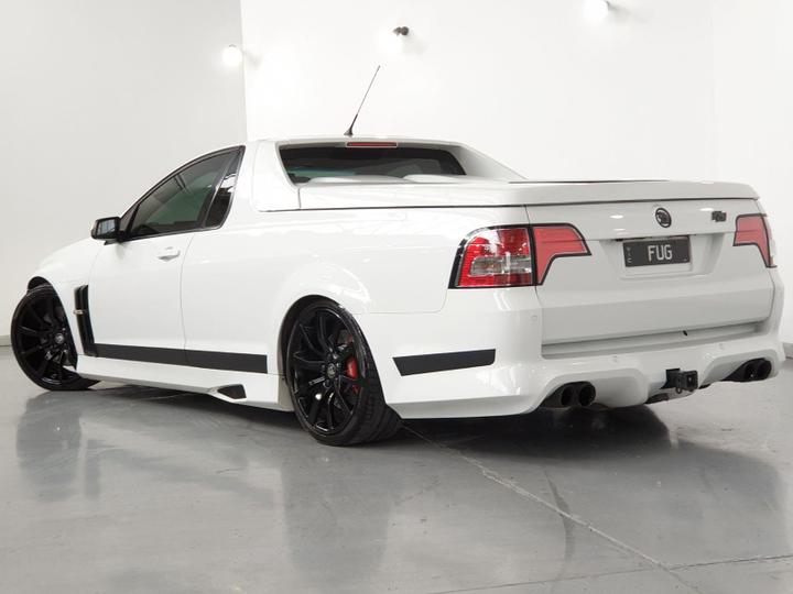 HOLDEN SPECIAL VEHICLES MALOO R8 E Series 3 R8 SV Black Edition Utility Extended Cab 2dr Spts Auto 6sp 6.2i [MY12]