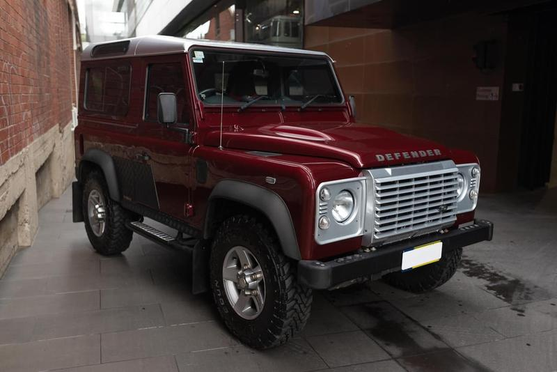 LAND ROVER DEFENDER  90 Wagon 3dr Man 6sp 4x4 2.2DT [MY15]