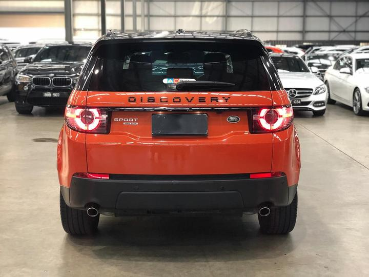 LAND ROVER DISCOVERY SPORT SD4 L550 SD4 HSE Wagon 5dr Spts Auto 9sp 4x4 2.2DT [MY16.5]