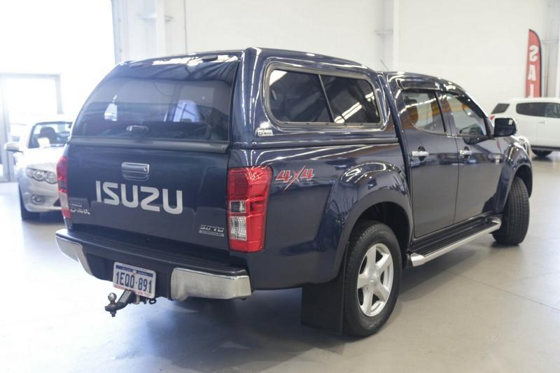 ISUZU D-MAX LS-U LS-U Utility Crew Cab 4dr Spts Auto 5sp 4x4 3.0DT [MY14]