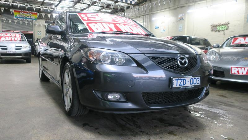 MAZDA 3 Maxx BK Series 1 Maxx Sport Sedan 4dr Man 5sp 2.0i