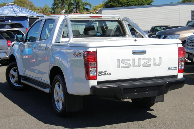 ISUZU D-MAX LS-U LS-U Utility Crew Cab 4dr Spts Auto 5sp 4x4 3.0DT (Sep) [MY15]