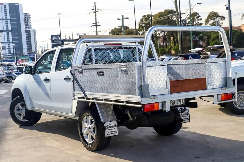 ISUZU D-MAX SX SX High Ride Utility Space Cab 4dr Spts Auto 5sp 4x2 3.0DT (Oct) [MY15]