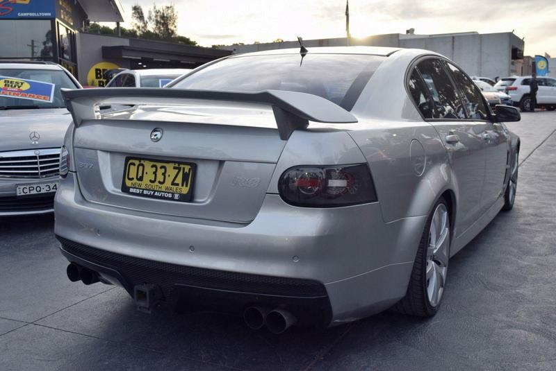 HOLDEN SPECIAL VEHICLES CLUBSPORT R8 E Series R8 Sedan 4dr Man 6sp 6.0i