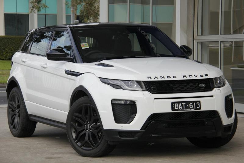 LAND ROVER RANGE ROVER EVOQUE TD4 L538 TD4 HSE Dynamic Wagon 5dr Spts Auto 9sp 4x4 2.0DT [MY19]
