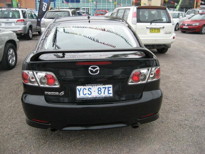 MAZDA 6 Luxury GG Series 1 Luxury Hatchback 5dr Spts Auto 4sp 2.3i