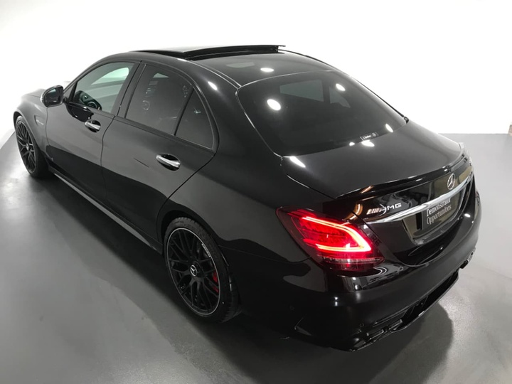 MERCEDES-BENZ C63 AMG W205 AMG S Sedan 4dr SPEEDSHIFT MCT 9sp 4.0TT [Jul]