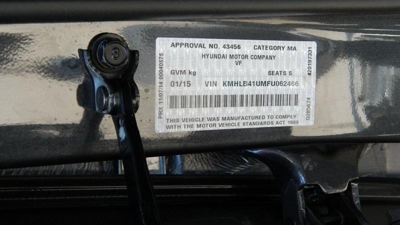 HYUNDAI I40 Active VF2 Active Sedan 4dr Spts Auto 6sp 1.7DT