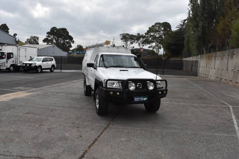 NISSAN PATROL DX Series 4 DX Cab Chassis Single Cab 2dr Man 5sp 4x4 3.0DT (Leaf) [MY14]