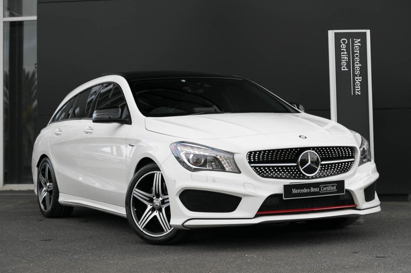 MERCEDES-BENZ CLA250 Sport X117 Sport Shooting Brake 5dr DCT 7sp 4MATIC 2.0T