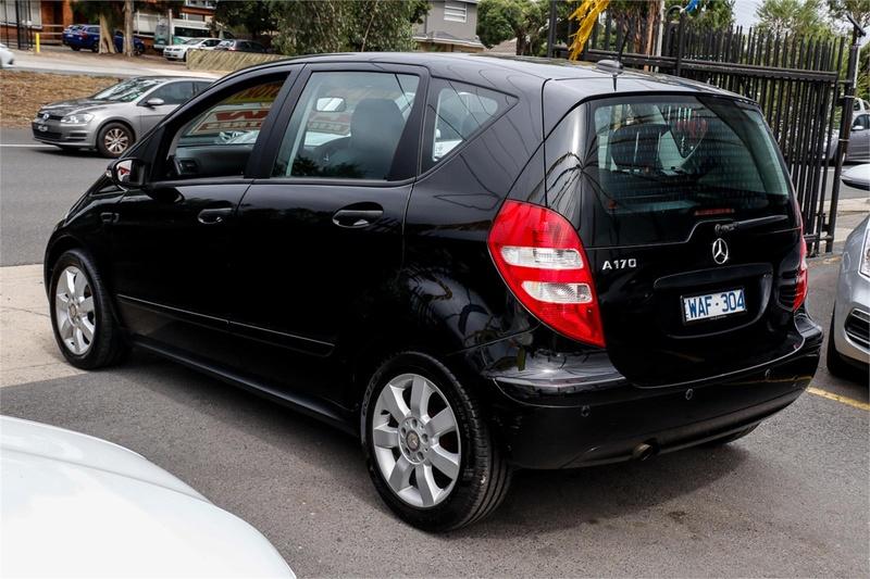 MERCEDES-BENZ A170 Classic W169 Classic Hatchback 5dr CVT 7sp 1.7i [MY08]
