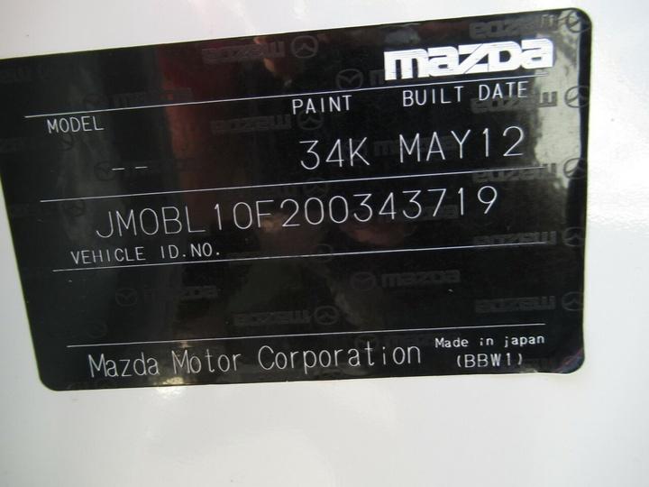 MAZDA 3 Neo BL Series 2 Neo Hatchback 5dr Man 6sp 2.0i [MY13]
