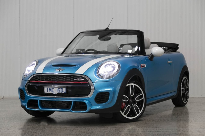 2017 Mini Convertible John Cooper Works Sports Automatic