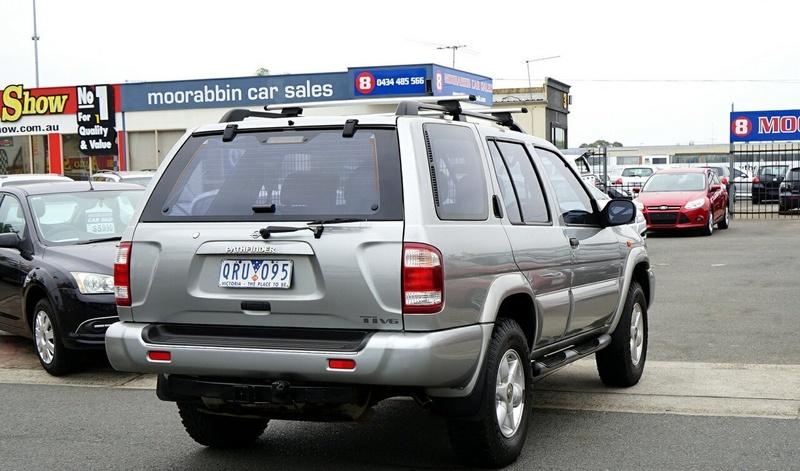 NISSAN PATHFINDER Ti WX II Ti Wagon 5dr Auto 4sp 4x4 3.3i [MY02]