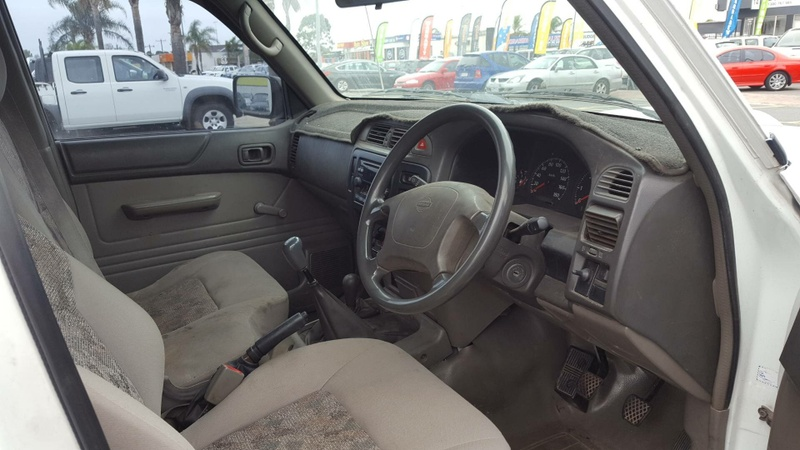 NISSAN PATROL DX GU DX Cab Chassis Single Cab 2dr Man 5sp 4x4 4.2DT (Leaf)