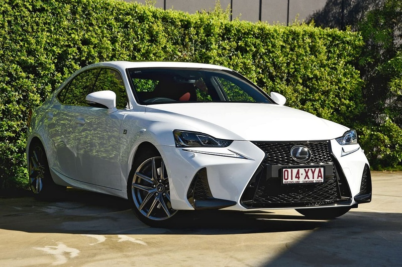 LEXUS IS200T F Sport ASE30R F Sport Sedan 4dr Spts Auto 8sp 2.0T