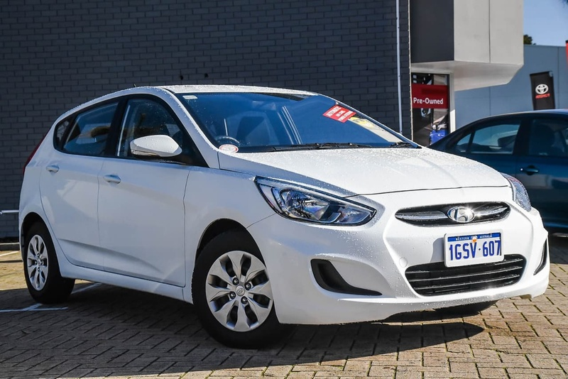 HYUNDAI ACCENT Active RB3 Active Hatchback 5dr CVT 6sp 1.4i [MY16]