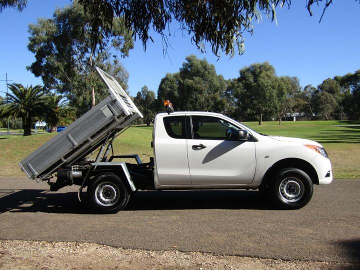 MAZDA BT-50 XT UP XT Hi-Rider Utility Dual Cab 4dr Man 6sp 4x2 3.2DT