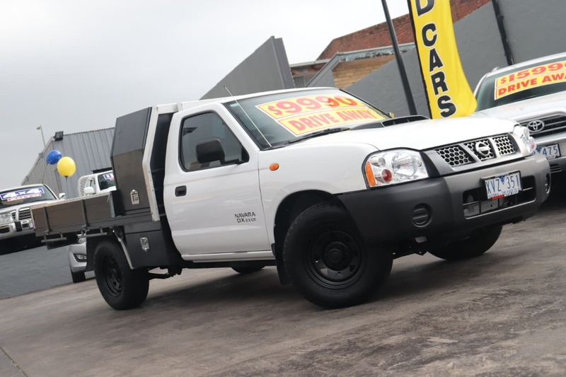 NISSAN NAVARA DX D22 DX Cab Chassis Single Cab 2dr Man 5sp 4x2 2.5DT [MY10]