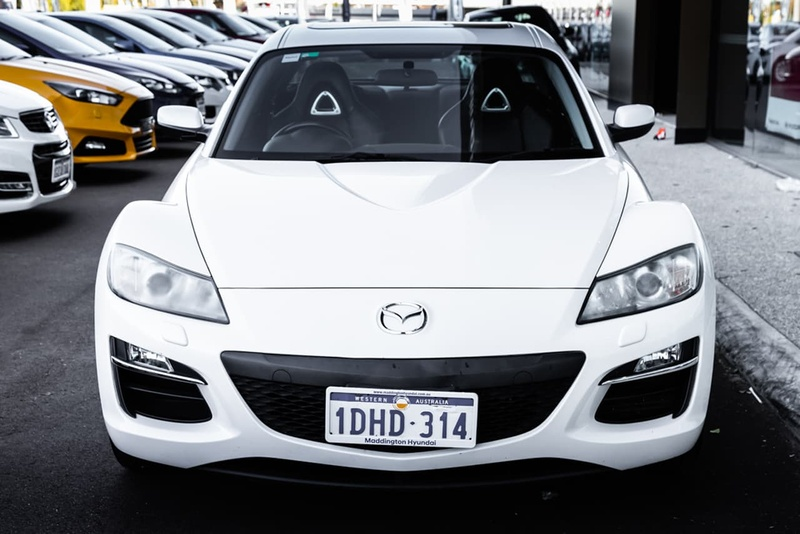 MAZDA RX-8 Luxury FE Series 2 Luxury Coupe 4dr Spts Auto 6sp 13Bi Rotary (Sat Nav)