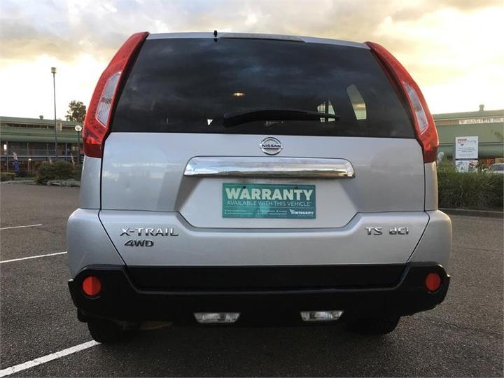 NISSAN X-TRAIL TS T31 TS Wagon 5dr Spts Auto 6sp 4x4 2.0DT [Series V]