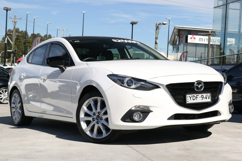 MAZDA 3 SP25 BM Series SP25 GT Sedan 4dr SKYACTIV-Drive 6sp 2.5i [Jan]