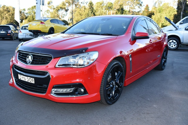 HOLDEN COMMODORE SS V VF SS V Redline Sedan 4dr Man 6sp 6.0i [MY15]