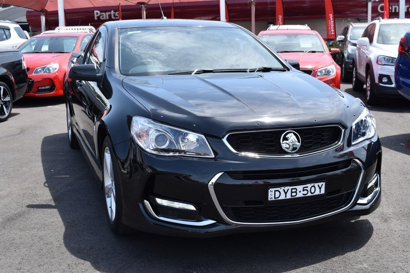 HOLDEN UTE SV6 VF Series II SV6 Ute Extended Cab 2dr Spts Auto 6sp 3.6i [MY16]