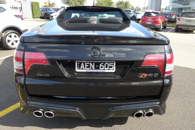 HOLDEN SPECIAL VEHICLES MALOO R8 GEN-F R8 Utility Extended Cab 2dr Spts Auto 6sp 6.2i [MY15]