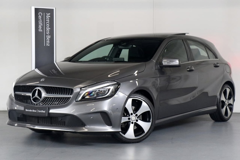 MERCEDES-BENZ A200  W176 Hatchback 5dr D-CT 7sp 1.6T