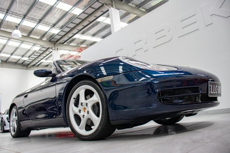 Porsche 911 Cabriolet 996 Convertible 2dr Spts Auto 5sp 3 4i