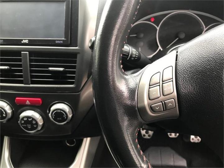 SUBARU IMPREZA WRX G3 WRX. Sedan 4dr Man 5sp AWD 2.5T [MY09]
