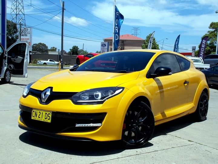 RENAULT MEGANE R.S. 265 III D95 Phase 2 R.S. 265 Cup Coupe 2dr Man 6sp 2.0T [Feb]