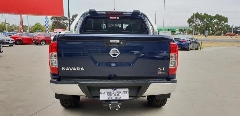 NISSAN NAVARA ST D23 Series 3 ST Utility Dual Cab 4dr Man 6sp 4x4 2.3DTT