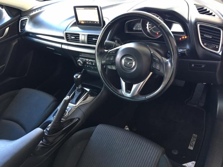 MAZDA 3 SP25 BM Series SP25 Sedan 4dr SKYACTIV-Drive 6sp 2.5i [Nov]