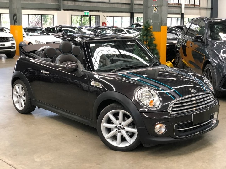2012 Mini Cabrio Cooper Highgate Sports Automatic