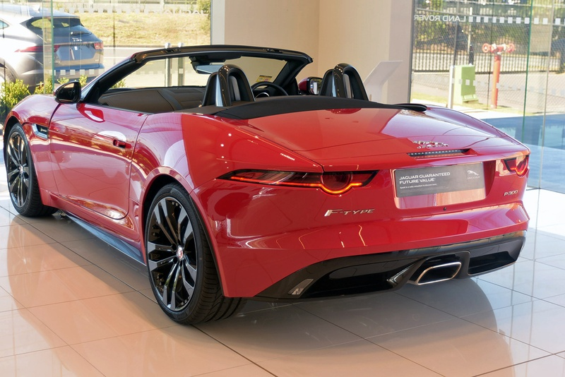 JAGUAR F-TYPE R-Dynamic X152 R-Dynamic 221kW Convertible 2dr Quickshift 8sp RWD 2.0T [MY20]