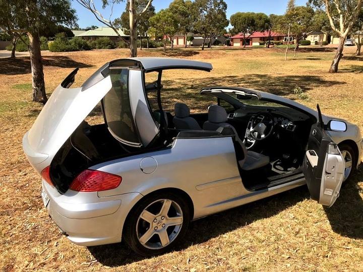 Peugeot 307 Braking Fault Warning