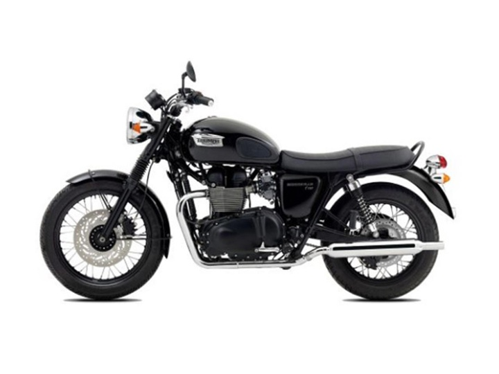 2014 Triumph Bonneville T100 Black Manual