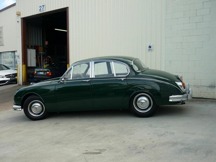 JAGUAR MK II  Sedan 4dr Man 4sp 3.8