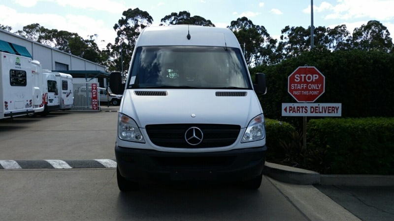 MERCEDES-BENZ SPRINTER 315CDI NCV3 315CDI ELWB Van High Roof 4dr Auto 5sp 2.1DT [MY09]