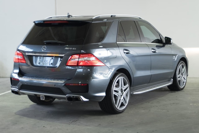 MERCEDES-BENZ ML63 AMG W166 AMG Wagon 5dr SPEEDSHIFT DCT 7sp 4x4 5.5TT