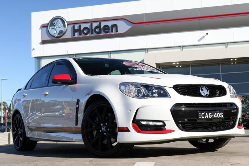 HOLDEN COMMODORE Motorsport VF Series II Motorsport Edition Sedan 4dr Man 6sp 6.2i [MY17]