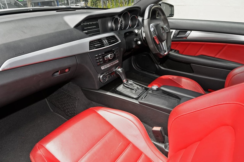 MERCEDES-BENZ C63 AMG C204 AMG Performance Package Coupe 2dr SPEEDSHIFT MCT 7sp 6.3i [MY12]