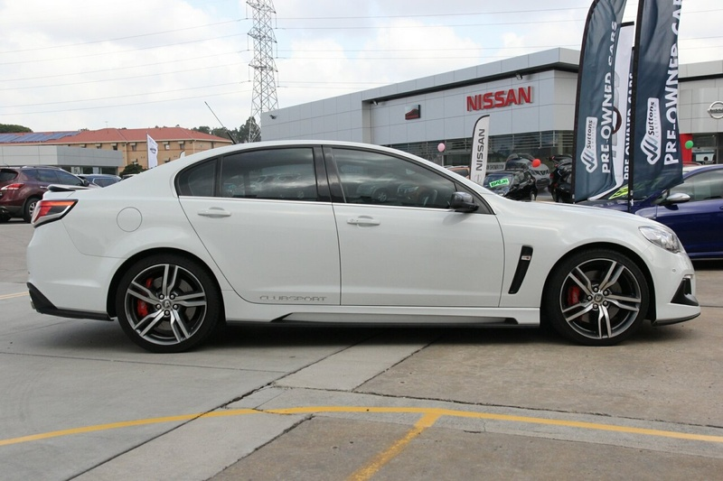 HOLDEN SPECIAL VEHICLES CLUBSPORT R8 GEN-F2 R8 LSA Sedan 4dr Spts Auto 6sp 6.2SC [MY16]