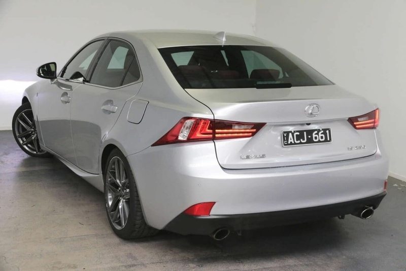 LEXUS IS250 F Sport GSE30R F Sport Sedan 4dr Spts Auto 6sp 2.5i (Aug) [Aug]