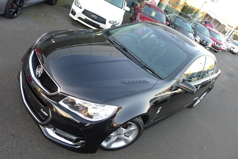 HOLDEN COMMODORE SS VF Series II SS Sedan 4dr Spts Auto 6sp 6.2i [MY16]